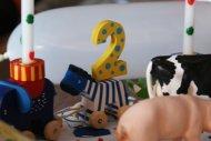 Der 2. Geburtstag - auf dem Bauernhof