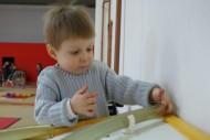 Ohne Fingerfertigkeit geht bei kleinen Forschern nichts