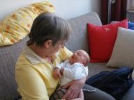 Großmutterbesuch