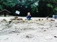 kleiner Junge im Burgenland