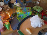 Der Geburtstagstisch